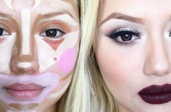 new-cosmetic-trend-clown-contouring-technique