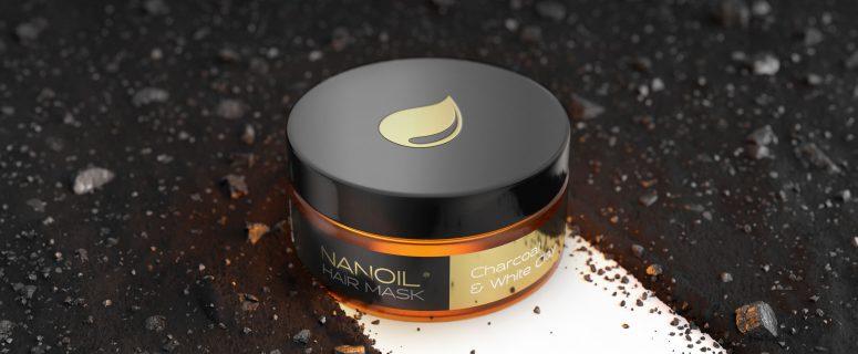 nanoil charcoal hair mask
